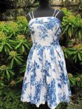 1950's 'Willow pattern' print vintage cotton sundress **SOLD**